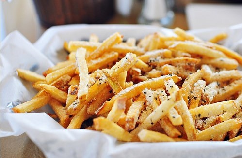 avoid french fries in your diet
