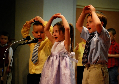 preschool performance, image by ronnie44052